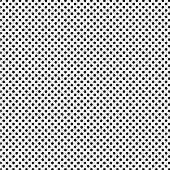 A medium sized dotted texture- black and white vector pattern