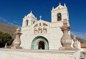 Saint Santa Ana De Maca Church, Peru