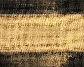 old grunge burlap jute fabric textured background