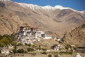 Likir Monastery Buddhist Temple in Ladakh ,India - September 2014