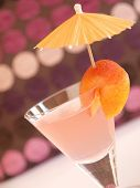 Cocktail Of Peaches