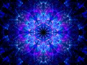 Splitted Multicolored Kaleidoscope Fractal