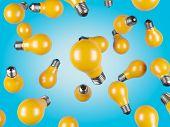 Falling Yellow Lamp