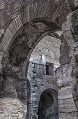 Rome Colosseum Interior Arches