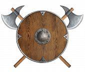image of viking  - old wooden vikings - JPG