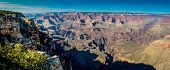 High Resolution Panoramic View Of The Magnificent Grand Canyon In Arizona