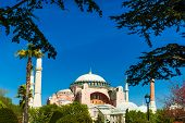 picture of constantinople  - Aya Sophia Camii in Istanbul City - JPG