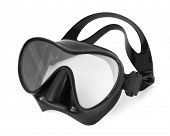picture of rubber mask  - Mask for snorkeling and diving - JPG