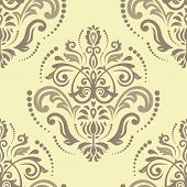 foto of damask  - Damask seamless pattern - JPG