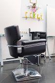 stock photo of beauty salon interior  - interior of a beauty salon - JPG