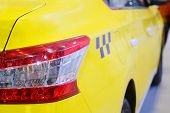 foto of cabs  - The image of a taxi yellow cab - JPG