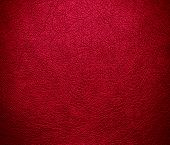 stock photo of glory  - Crimson glory color leather texture background for design - JPG