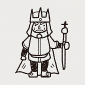 pic of scepter  - King Doodle - JPG