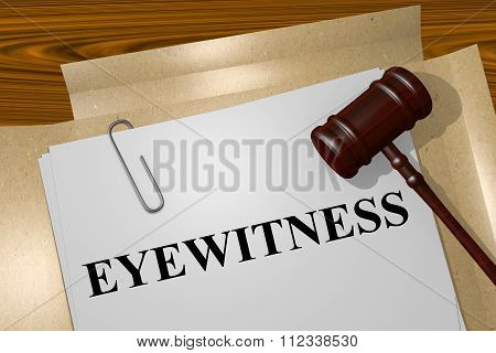 Poster: Eyewitness Concept