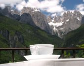 Coffee At The Dolomites