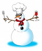 Snowman Chef