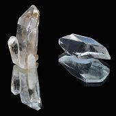 Quartz and rock crystal