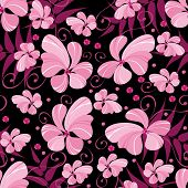 background of the flowers