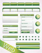 Vector Website-Elemente