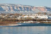 Colorado River In Wnter
