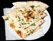 tandoori naan in plate