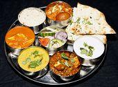 indian thali combo