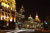 The Bund At Night, Shanghai