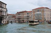 Vaporetto At The Grand Canal
