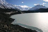 Frozen Cook Lake
