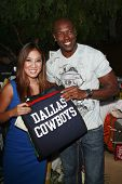 LOS ANGELES - JULY  15: Michelle Kwan and Terrell Owens at the 2008 ESPYs Giant Event in downtown Lo