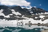 Pietra Rossa Alpine Lake