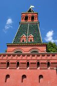 The 2Nd Nameless (Bezymyznnaya) Tower In Kremlin