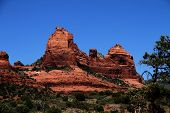picture of snoopy  - Picture of a rock formation in Sedona - JPG