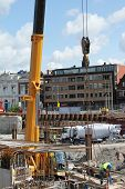 Construction Site In Delft