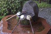 Japanese Holy Hand Washing Trough (Omizuya Lavabo).
