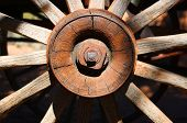 Wooden Wagon Wheel