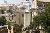 Roman Forum temples