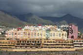 Hotel Buildings At The Coast Of  Tenerife