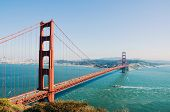 Linking San Francisco And Marin County. It Is One Of The Most Famous Attractions Not Only In San Fra poster