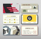 Poster Infographics Information Business Modern Design Set Proposal Advert. Vector Illustration With poster