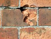 Weathered Brick poster