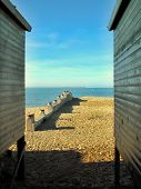 Between Beach Huts