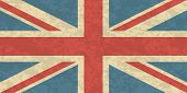 Great Britain, United Kingdom Flag. Uk Flag Icon. Waving Flag Of United Kingdom. Great Britain Wavin poster