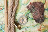 Compass With A Rope
