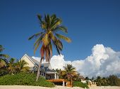 image of beachfront  - A beautiful beachfront house in the Cayman Islands - JPG