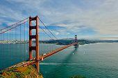 Golden Gate Bridge, San Francisco, California, USA poster