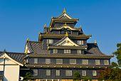 Okayama Castle In Japan