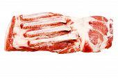 One Piece Of Fresh Pork Meat Brisket Sweet