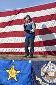 Steve Vick At Rally.