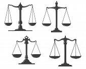 Escalas de Justicia Vintage